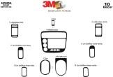 Peugeot Expert 01.96 - 12.06 Mittelkonsole Armaturendekor Cockpit Dekor 9 -Teile