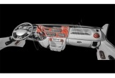 Peugeot Boxer 02.02 - 01.06 Mittelkonsole Armaturendekor Cockpit Dekor 15 -Teile