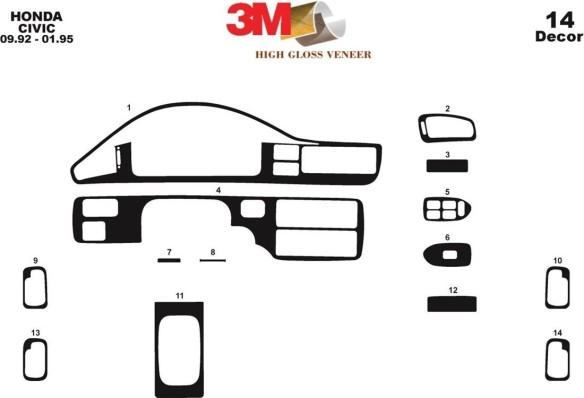 Nissan Interstar 01.2003 3M 3D Car Tuning Interior Tuning Interior Customisation UK Right Hand Drive Australia Dashboard Trim Ki