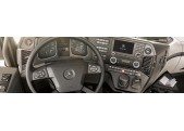 MERCEDES LKW Cars Interior Dash Kits - real Wood Grain, Carbon Fiber, Camouflage, Aluminum, Stainless Steel dashboard kits. Deli